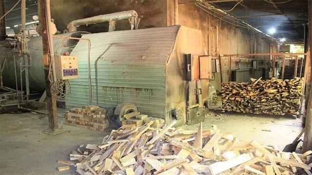 Bồn đốt sấy gỗ