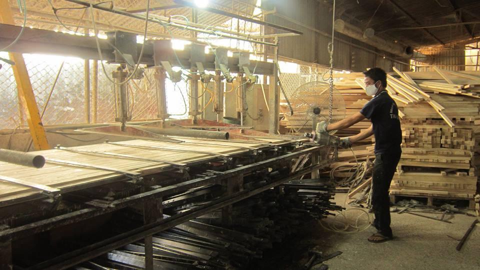 Bàn ghép tấm ván gỗ dài đến 6000mm