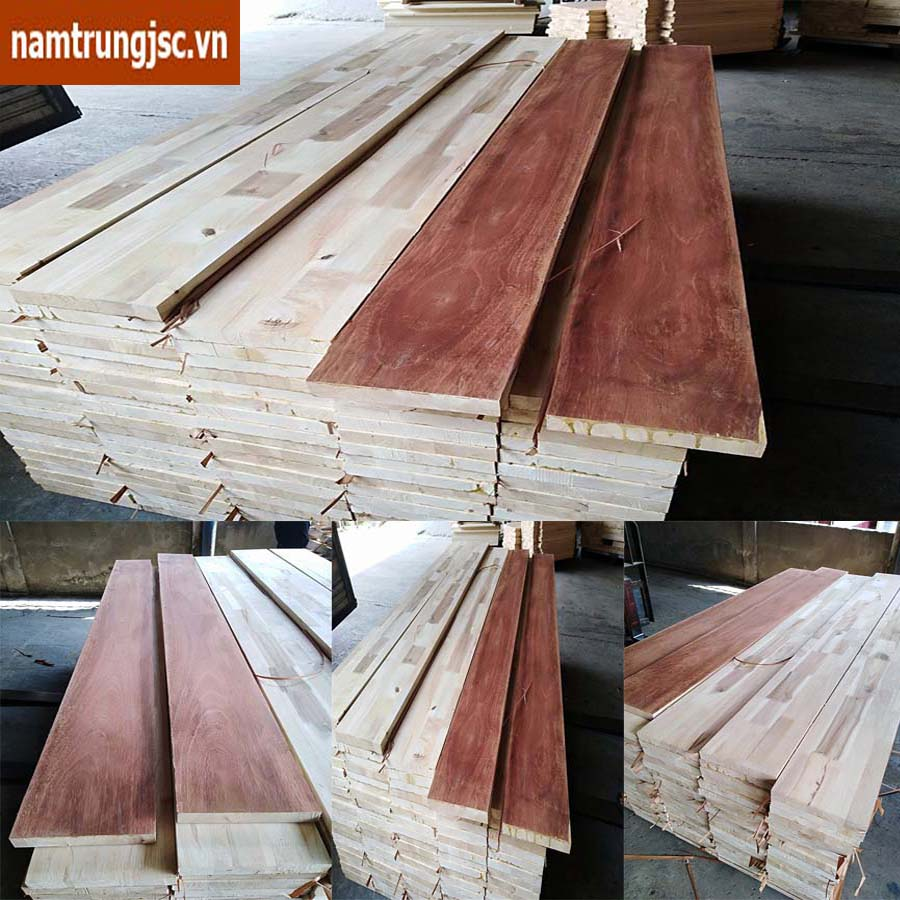 Chi tiết vai giường gỗ