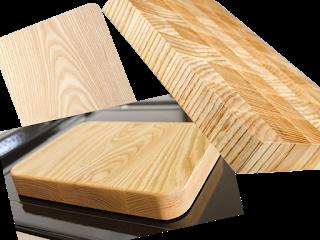 Gia công ghép thớt gỗ Tần Bì