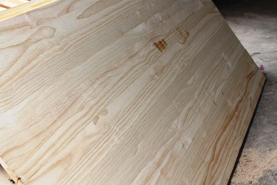 Pano cánh cửa gỗ thông kích thước 615 x 995mm