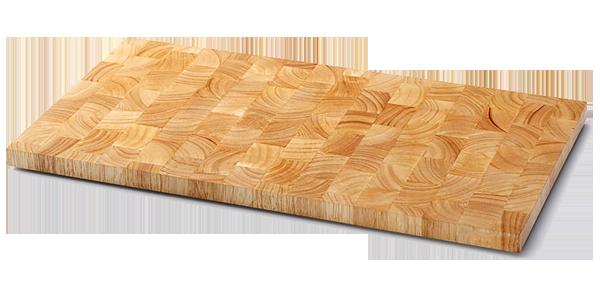 Thớt chữ nhật gỗ cao su Endgrain CTBbizz6617