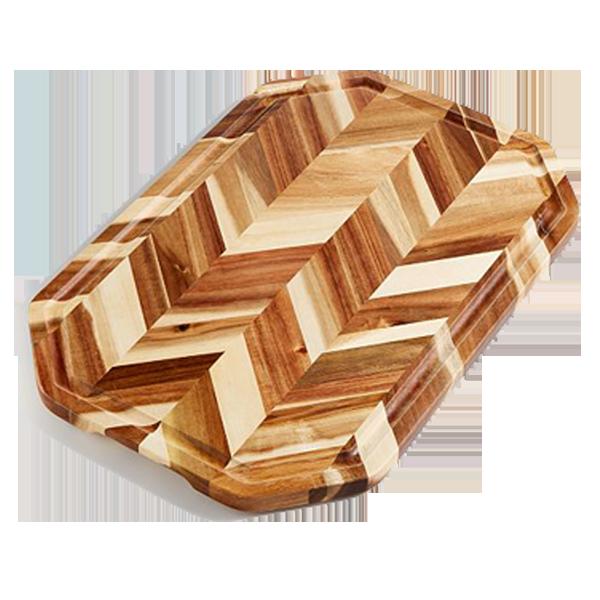 Thớt gỗ ghép xương cá HerringBone CTBbizz3603