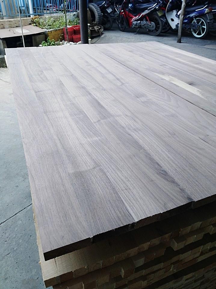 Ván ghép gỗ Óc Chó 21 x 565 x 1520mm