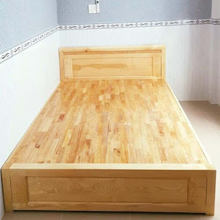 Dát giường gỗ cao su AB 18x800x2000mm