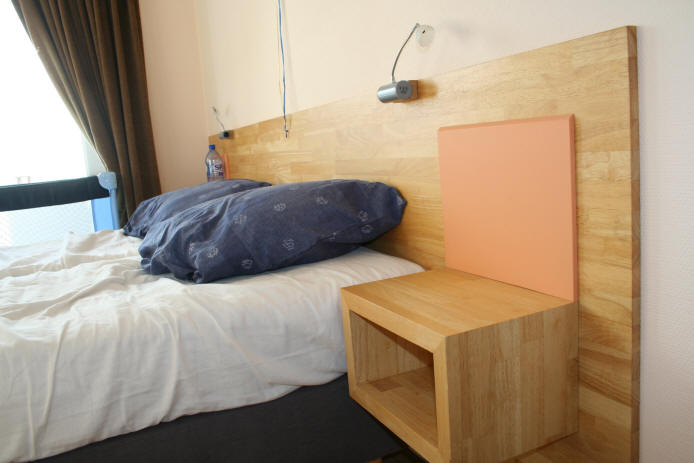 Đầu giường gỗ cao su 30x700x1860mm