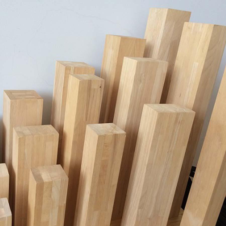 Khung cửa ván gỗ ghép cao su 40x180x2225mm