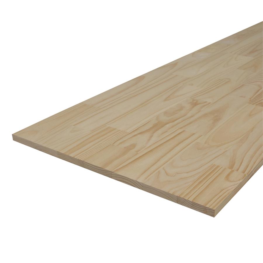 Mặt bàn chữ nhật gỗ Thông 600 x 1200mm
