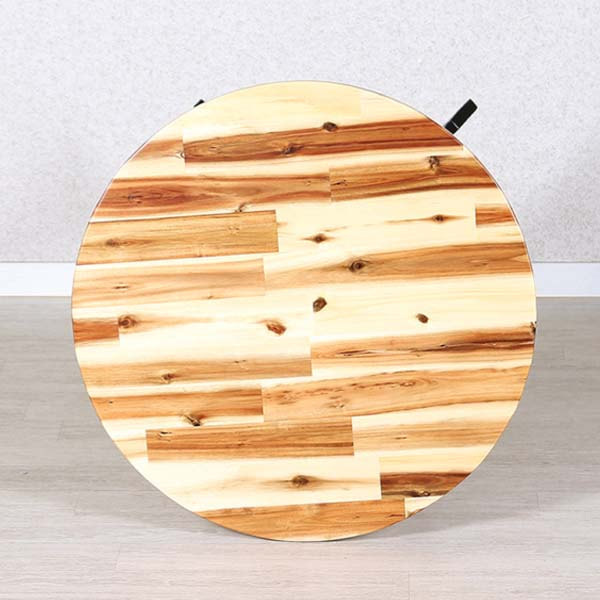 Mặt bàn gỗ tròn 60cm (Bàn ghế Cafe) MBGBizz1621