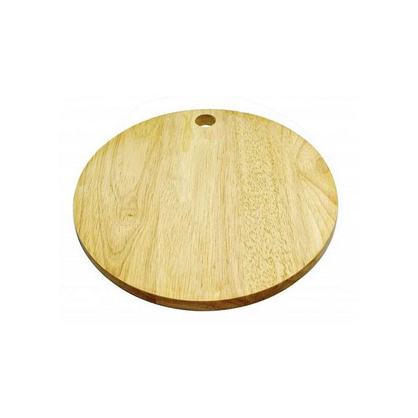 Thớt gỗ tròn có đục lỗ