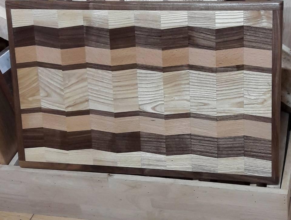 Thớt gỗ độc đáo