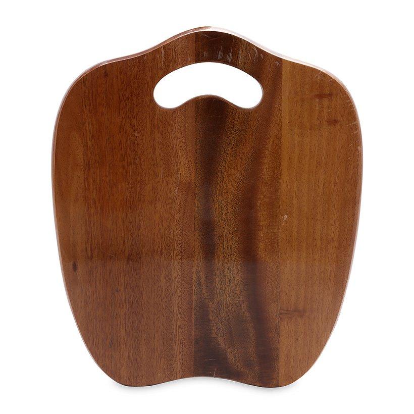 Thớt gỗ hình quả táo