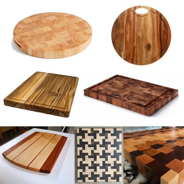 Thớt gỗ xà cừ, thớt gỗ cao su, thớt gỗ tràm, thớt gỗ sồi, gỗ teak, gỗ óc chó CTBbizz5988