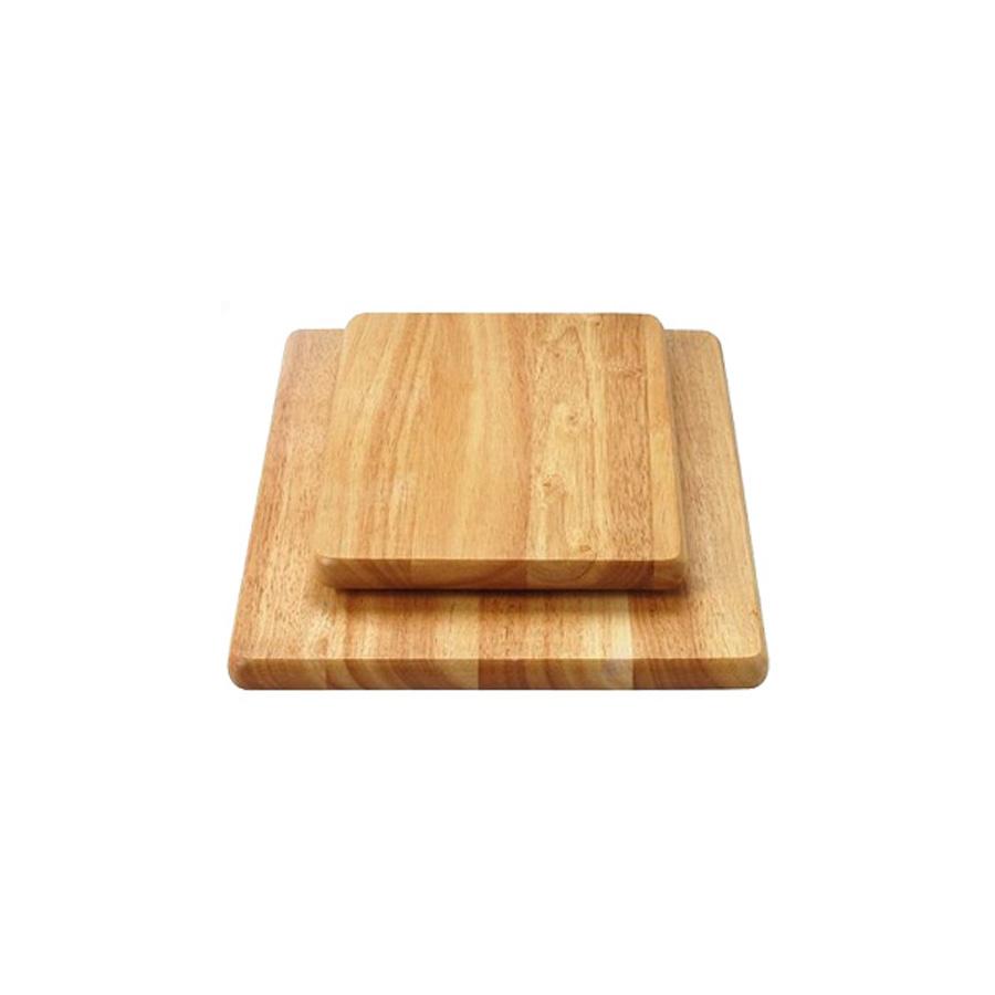 Thớt vuông gỗ cao su