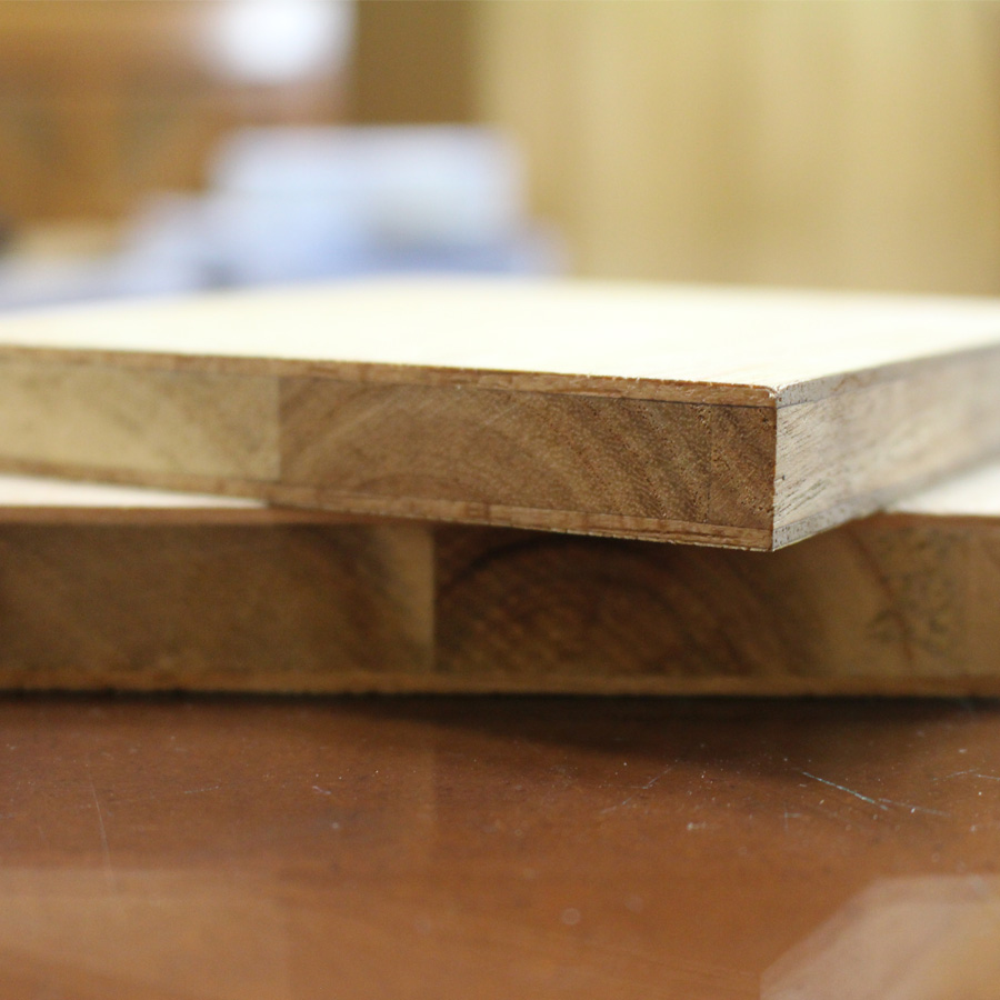 Ván ép lõi gỗ ghép Tràm
