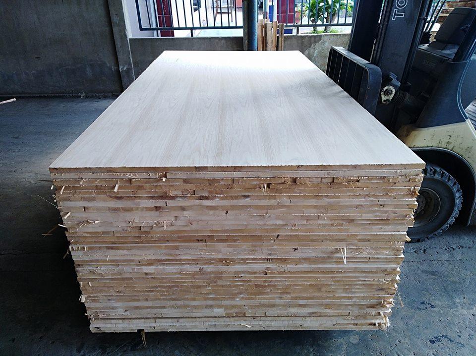 Ván gỗ ghép dán phủ veneer Sồi