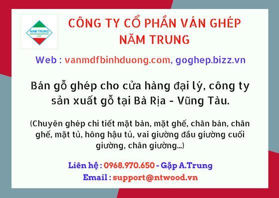 Cung cấp ván gỗ nguyên liệu khu vực Bà Rịa- Vũng Tàu