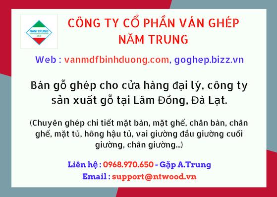 Bán ván gỗ nguyên liệu khu vực Lâm Đồng, Đà Lạt