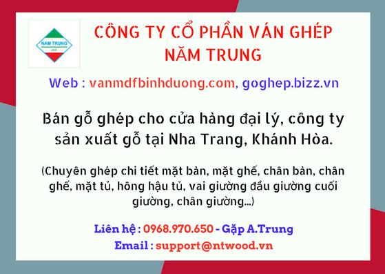 Cung cấp ván gỗ khu vực Nha Trang, Khánh Hòa