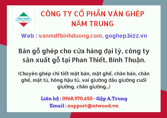 Bán ván gỗ Phan Thiết, Bình Thuận